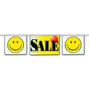 2-Sided Mini Banner Strings (Sale/Smiley)