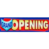 2 X 7 Banner-Grand Opening (Red/Blue)