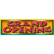 2 X 7 Banner-Grand Opening (Red/Yellow)