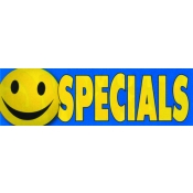 2X7 Banner- Specials (Happy Face)
