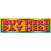 2X7 Banner- Buy Here Pay Here (Red/Yel)