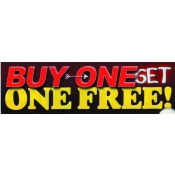 2X7 Banner- Buy 1 Get 1 Free (Red/Yel/Blk)