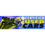 2X7 Banner- Great Deals - Used Cars