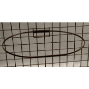 "(Ant. Bronze) 27"" Dia. Grid Mount Basket Ring"