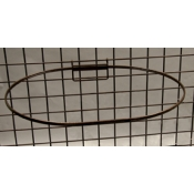 "(Ant. Bronze) 23"" Dia. Grid Mount Basket Ring"