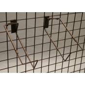(Ant. Bronze) Adjustable Grid Basket Holder Set