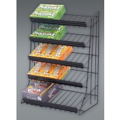 (Black) 5-Tier Waterfall-Merchandiser