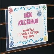 "11"" W X 8 1/2"" H Hanging Sign Holder"