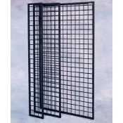"(Black) Gridwall Panel 84"" X 12"""
