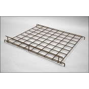 "(Ant. Bronze) 24"" X 24"" Straight Grid Shelf"