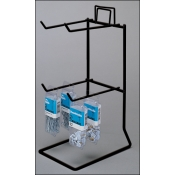 "(Black) 4 Peg - 11 1/4"" H Counter Rack"