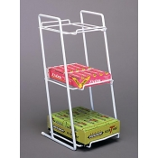 Boxed Goods Counter Rack (White)