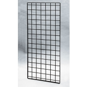 "(Black) 56"" X 24""-Double Wire-Grid Panel"