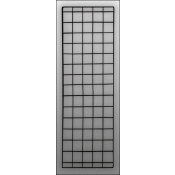 "(Black) 56 ""X 18"" Double Wire Grid Panel"