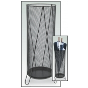 (Black) Wire Mesh Tall Bin