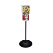 "(Red) Classic Single 1"" Vending Machine W/ Stand"