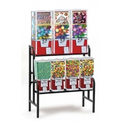 Classic Gum/Candy/Toy Vending Machine (7 Unit)