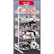 20 Basket Merchandiser (White)