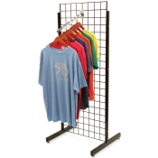 "(Black) 24"" Promo Display - No Shelves"