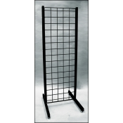 "(Black) 18"" Promo Display - No Shelves"