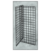 "(Black) 24"" Econo-T-Displays-No Shelves"