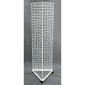 (White) 3-Way Grid Tower