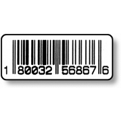 "1/2"" X 1 1/4"" Upc Code Label (1,000)"