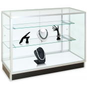 "Extra Vision Glass Showcases (Size: 48""L x 20""W x 38""H)"