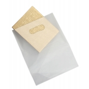 Large Clear Frosty Low Density Merchandise Bags (Box of 500)