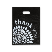 "Medium ""Thank You"" Low Density Merchandise Bags (Box of 500)"