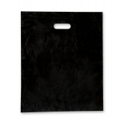 Large Black Low Density Merchandise Bags (Box of 500)