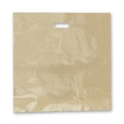Large Gold Low Density Merchandise Bags (Box of 500)