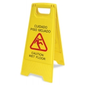 """Wet Floor"" Sign"