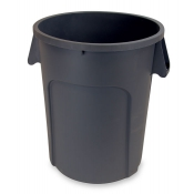 32 Gallon Plastic Trash Can