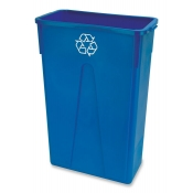 23 Gallon Slim Recycling Trash Can