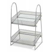 Wire Mesh Counter Rack - 2 Tier