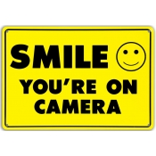 Surveillance Sign (Smile)