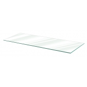 "Clear Tempered Glass Shelf - 10"" X 36"" (5-pack)"