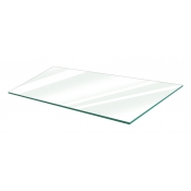 "Clear Tempered Glass Shelf - 12"" X 24"" (5-pack)"