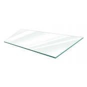 "Clear Tempered Glass Shelf - 14"" X 24"" (5-pack)"