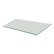 "Frosted Tempered Glass Shelf - 12"" X 24"" (5-pack)"