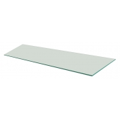 "Frosted Tempered Glass Shelf - 12"" X 36"" (5-pack)"