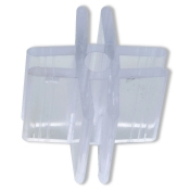4-Way Glass Cube Clip (Lexan)