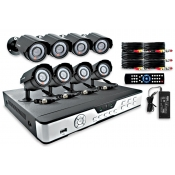 8 Channel / 8 Camera Surveillance System