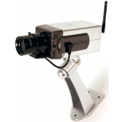 Fake Security Camera with Zoom Lens & Motion Detector