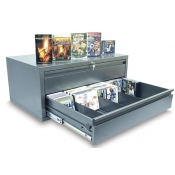 DVD, VHS, CD Storage Cabinet