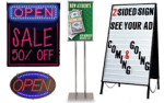 Retail Signs & Sign Holders