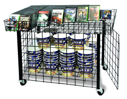 We carry Dump Bins for all your product merchandising and impulse item advertising needs
