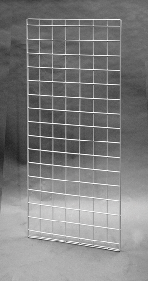 White 56 Quot X 24 Quot Double Wire Grid Panel 20 699 Grid And