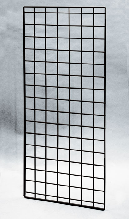 Black 56 Quot X 24 Quot Double Wire Grid Panel 21 433 Grid And